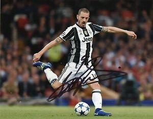 Foto-Autografo-Calcio-Leonardo-Bonucci-Asta-di-Beneficenza-Sport-Coa-Signed