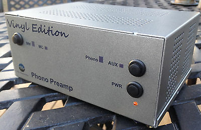 Vinyl Edition Gold - Phono Tube Preamp With Riaa Duidelijk Effect
