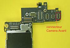 Changement connecteur camera avant iphone 4  soudure repair carte mere