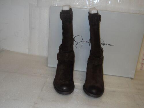 Nermin chaussures 7 886923019844 New Simpson tabac en Jessica M femme pour daim Bottes BZnqxwwUt4