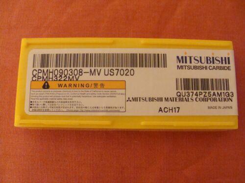 NOS MITSUBISHI CPMH090308-MV CPMH322MV US7020 CARBIDE INSERTS LOT 10!