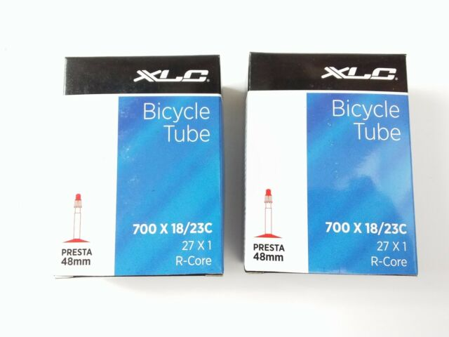 XLC Bicycle Tube 700 x 18//23c 48mm Presta Valve