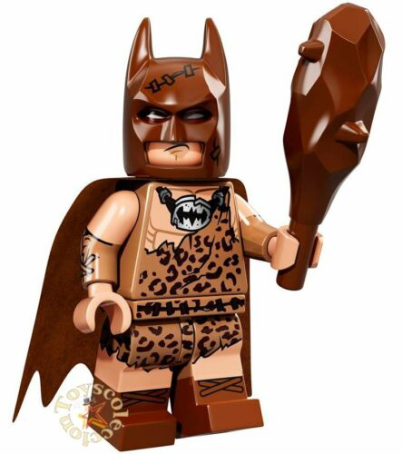 CLAN OF THE CAVE BATMAN 71017 ORIGINAL LEGO MINIFIGURES THE BATMAN MOVIE 1