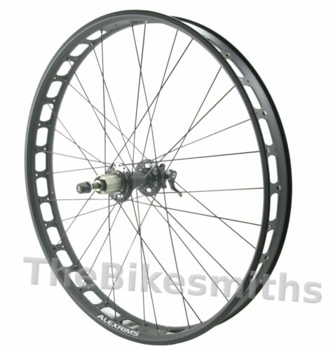 Alex Blizzerk 70 REAR 170mm Tubeless Ready Fat Bike 10QR Wheel fits Shimano