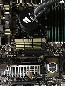 Asus p6x58d-e motherboard