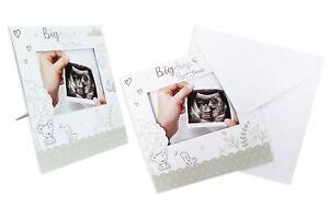Baby-Scansione-gravidanza-annuncio-rivelare-CARTE-KEEPSAKE-incinta-RICORDO