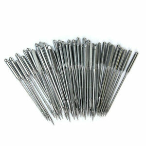 50//100Pcs Assorted Home Sewing Machine Needles Crafts for Brother Janome Singer
