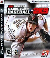 Major League Baseball 2K9  (Sony Playstation 3, 2009) New