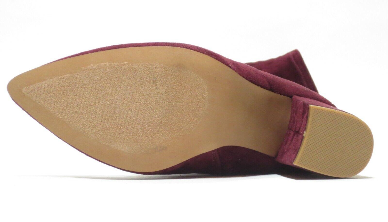 Steve Madden Madden Madden Rational Over the Knee Thigh High Heel Boots Tan   Burgundy   Black bce4f4