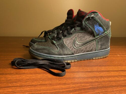 "Nike SB Dunk High Premium Size 8 313171-006 ""Twin"