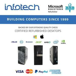 Used Computers from $49.99 Delivered - www.infotechtoronto.com Toronto (GTA) Preview