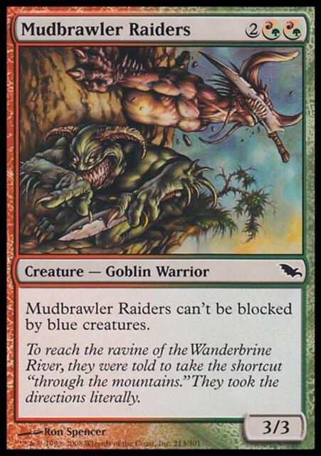 MTG Magic - (C) Shadowmoor - Mudbrawler Raiders - SP