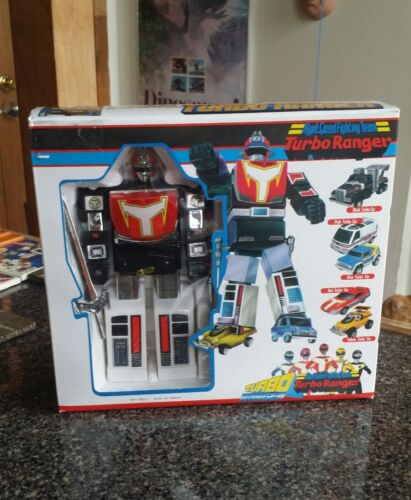 Vintage TurboRanger Turbo Power Rangers Team Vehicle Robot K//O MiB NoS Taiwan