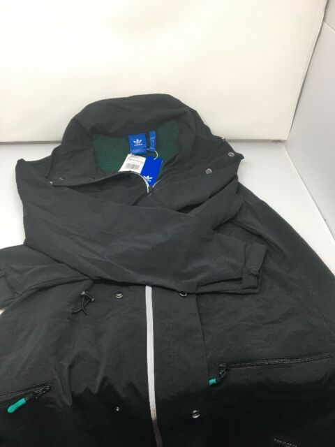 95c3ad7b5059 adidas Originals EQT Fremont Nylon Windbreaker Jacket BQ2059 Medium ...