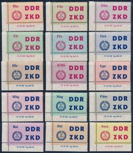 DDR-Dienst-MiNr-C-1-15-DV-2-Druckvermerk-tadellos-postfrisch-Mi-225
