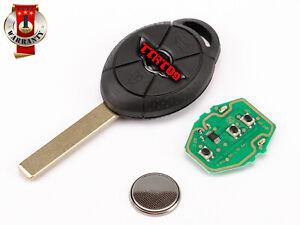 NEW Key Remote Control for BMW Mini Cooper One R50 R52 R53 433MHZ ID44 EMS