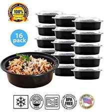 Microwave Freezer Safe Food Plastic Storage Set Leftovers Container Lid Box Meal