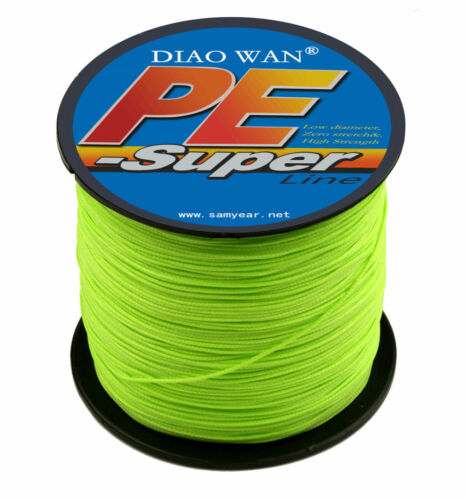 300M Super Strong Dyneema Spectra Extreme PE Braided Sea Fishing Line 10-100LB