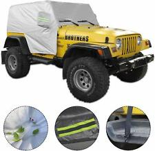 5 Layer Waterproof Suv Cover Protection Car Cover For 1997 2006 Jeep Wrangler Tj Fits Jeep