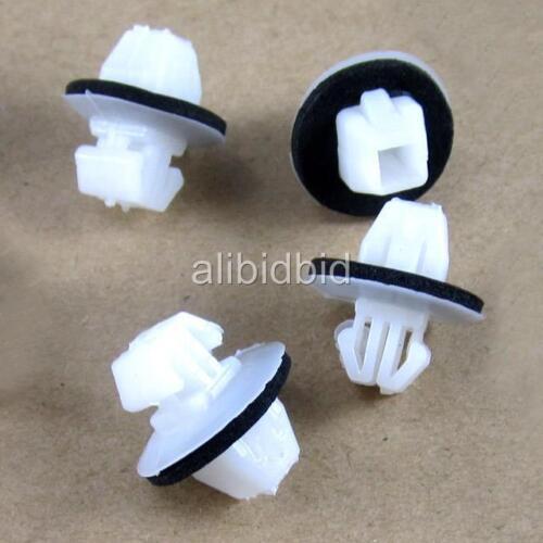 100x Rocker Panel Moulding Clips With Sealer For Suzuki Grand Vitara 77553-65D00