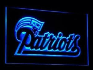 New England Patriots LED Neon Light Sign (New) Calgary Alberta Preview