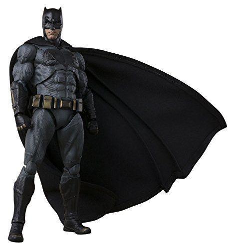 BANDAI S.H. Figuarts Batman Liga De La Justicia Figuras De Acción