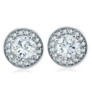 1-cttw-Halo-Diamond-Studs-14k-White-Gold