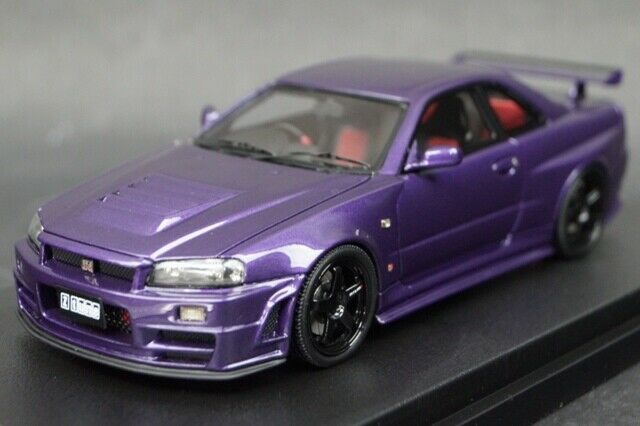 1:43 HPI 8399 Mirage Nissan Nismo R34 GT-R Z-tune Midnight Purple III
