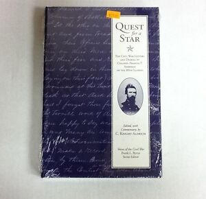 Quest-for-a-Star-TheCivil-War-Letters-and-Diaries-of-ColFrancis-T-Sherman-NEW