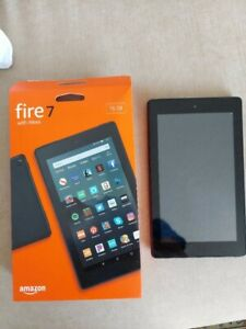 Amazon Fire 7 Tablet Case for 9th Generation Devices - Black with case