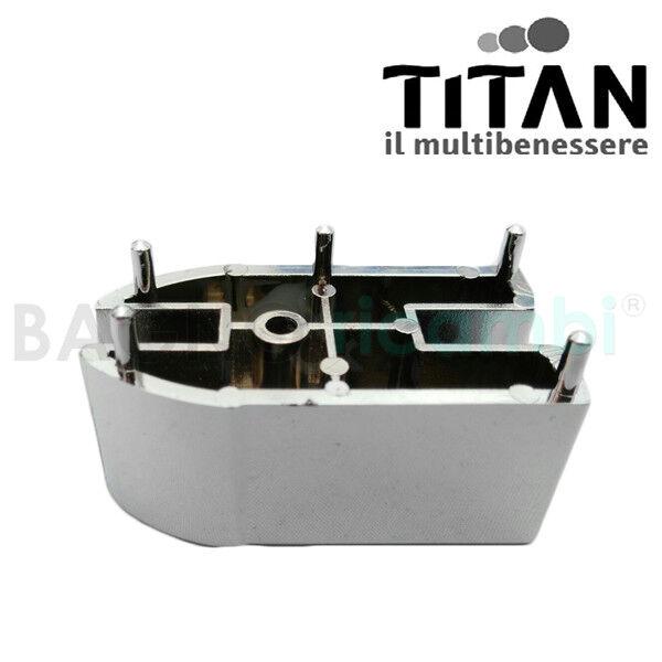 Ersatz Reißverschluss Chrom Light Titan CALIP9CR03