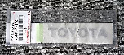 JDM Toyota Prius a α Alpha Rear 5th Door Badge Plate Emblem for Prius V
