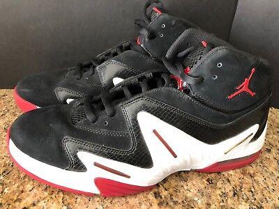 [AA3994 002] Homme AIR JORDAN ALPHA Sneaker Noir Blanc Varsity Red sz 11   eBay