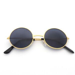 e04d7230d16 Image is loading John-Lennon-Style-Sunglasses-Round-Retro-Vintage-Shades-