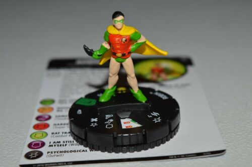 DC Heroclix Joker's Wild Robin Uncommon 027