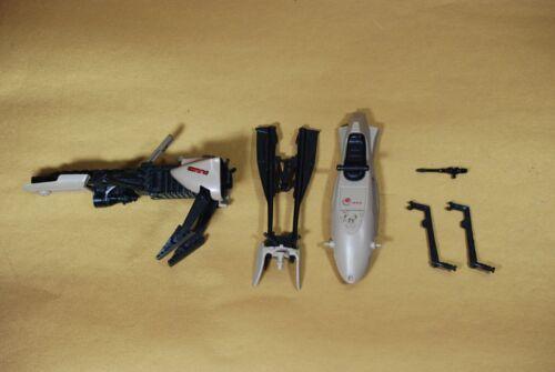 VINTAGE STAR WARS ENDOR SPEEDER BIKE PARTS KENNER gun handle bottom top part