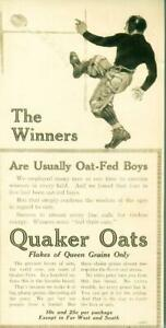 Advertising-Quaker-Oats-The-034-Winners-Feel-Their-Oats-034-Football-Cereal-1915
