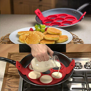 Anti-adhesif-Pancake-Crepe-Moule-Silicone-uf-Omelette-Ring-Maker-Cuisine-Outils