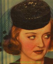 MARKED WOMAN Lobby Card Size 11x14 Movie Poster BETTE DAVIS HUMPHREY BOGART 1937