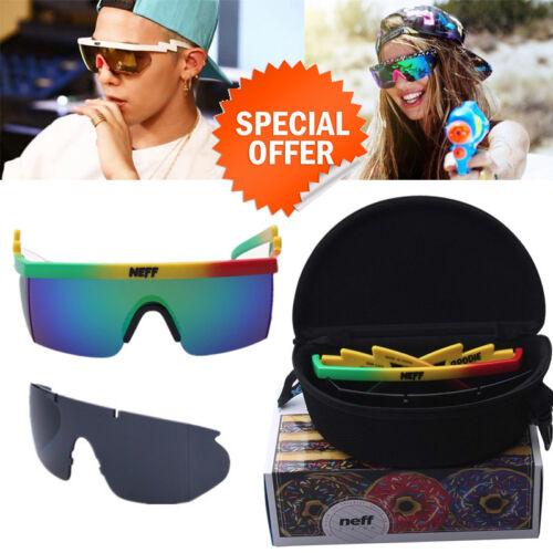 Neff Brodie /'Riff Raff/' Sunglasses Astroshadez 2 Lens With Packing Free Shipping