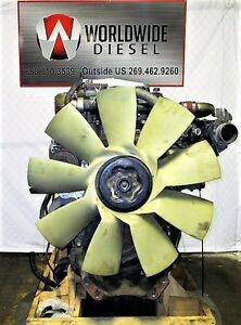2009-Detroit-DD15-Diesel-Engine-Take-Out-560HP-Turns-360-Good-For-Rebuild-Only