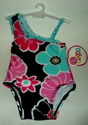 Circo Baby Girls Pineapple Tutu 1-Piece Swimsuit Multi-colored 3-6M NEW