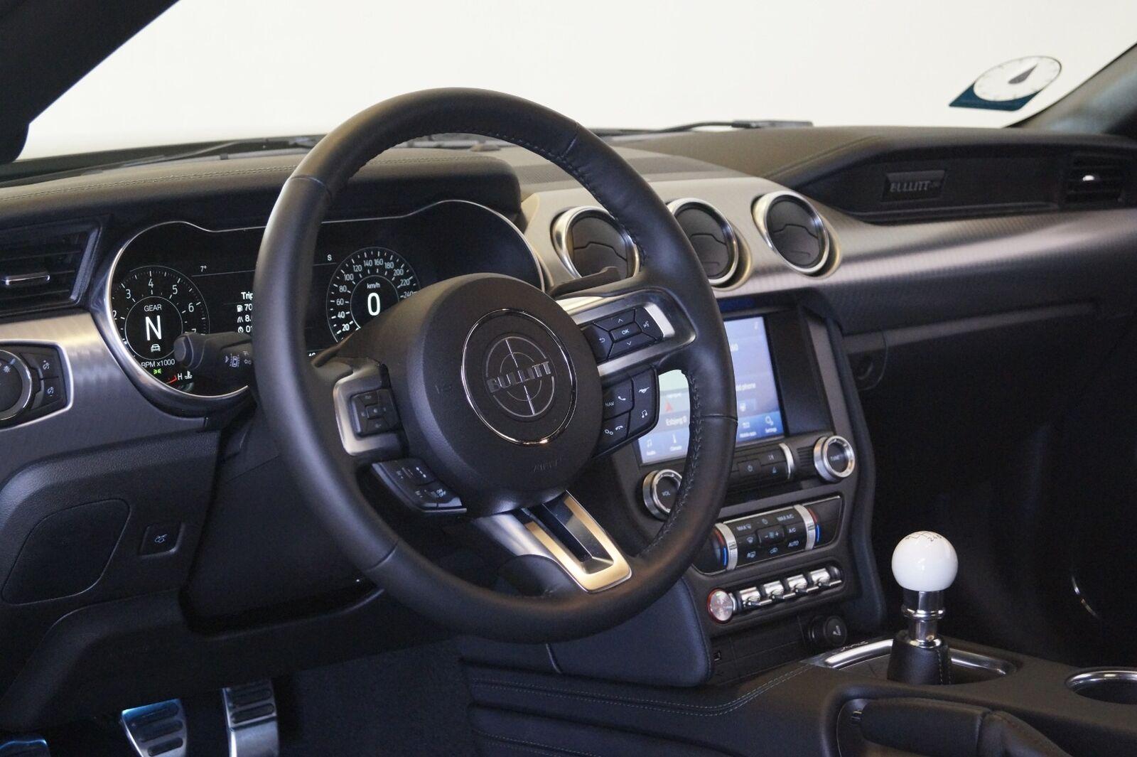 Ford Mustang 5,0 V8 GT Fastback Bullitt - billede 12