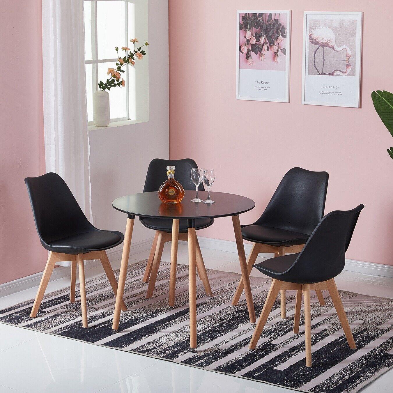 Eggree Table Ronde De Salle A Manger Table Moderne Pour Loisirs Bureau Salon