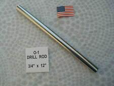 34 X 12 Drill Rod 0 1 Tool Steel Precision Ground 750 Machinist
