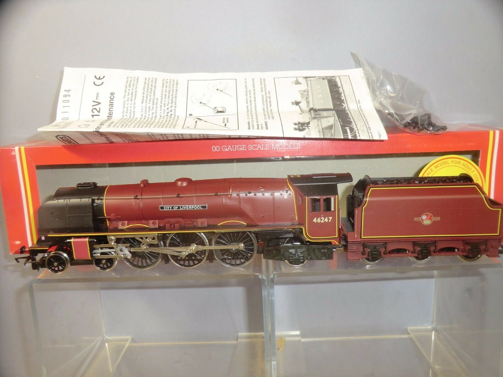 HORNBY MODEL No.R.194 BR CORONATION CLASS  CITY OF LIVERPOOL   LTD. EDITION  MIB