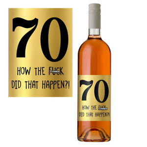 Funny-70th-Birthday-70-Today-Wine-Bottle-Label-Gift-Perfect-For-Men-amp-Women-Gold