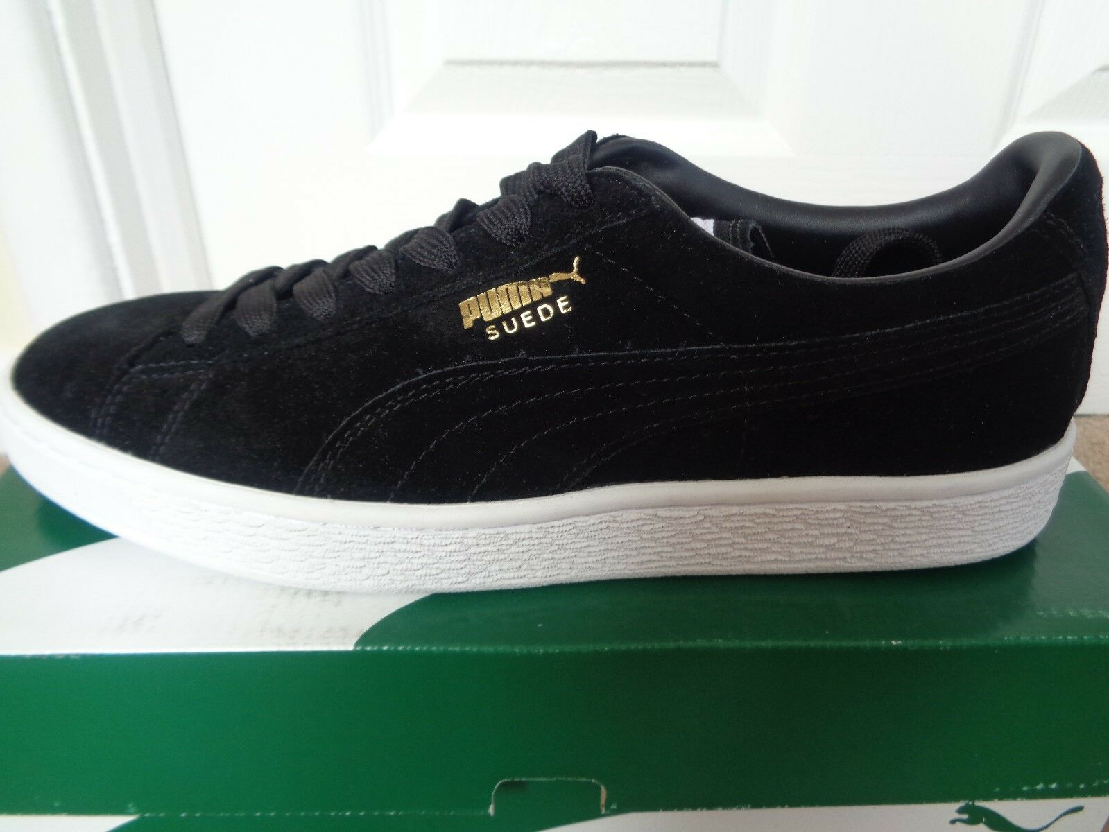 Puma Suede classic+ trainers  chaussures  sneakers 352634 87 uk 8 eu 42 us 9 NEW+BOX