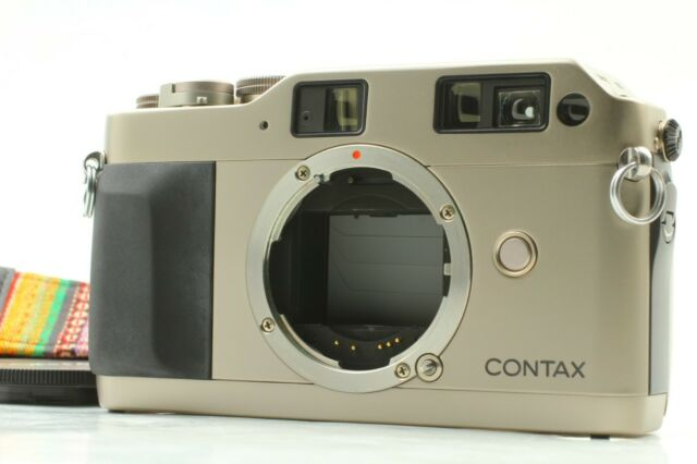 【Near MINT】CONTAX G1 35mm Rangefinder Film Camera From JAPAN #296