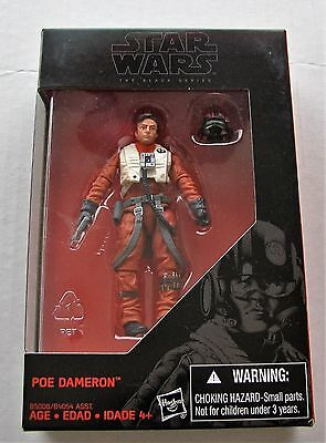 Star Wars Black Series Poe Dameron Force Awakens 3.75 inch MIB
